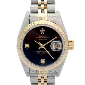 Rolex Lady Datejust Factory Diamond Dial 26mm